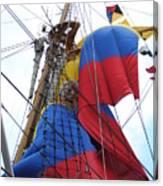 Columbian Mast Canvas Print