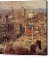 Columbus Circle New York Canvas Print