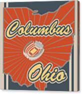 Columbus Ohio Canvas Print