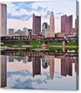 Columbus Ohio Reflects Canvas Print