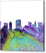 Columbus Skyline 3 Canvas Print