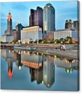 Columbus Squared Canvas Print