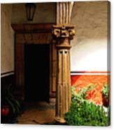 Column In The Corridor Canvas Print