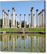Column Reflection Canvas Print