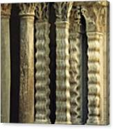 Columns At The Cloisters 3     Canvas Print