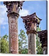 Columns Of Windsor Ruins Canvas Print