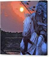 Comanche Spirit Canvas Print