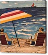Comb Over Brothers Canvas Print