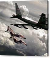 Combat Air Patrol Canvas Print