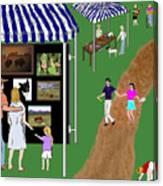 Come To The Fair Canvas Print