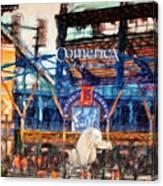 Comerica Tigers Detroit Canvas Print