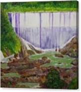 Comerio Dam Canvas Print