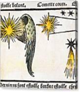 Comet, 1496 Canvas Print