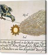 Comet, 1664 Canvas Print