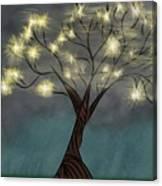 Comet Tree Canvas Print