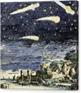 Comets Canvas Print