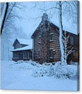 Comfort From The Cold Canvas Print