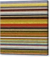 Comfortable Stripes Vl Canvas Print