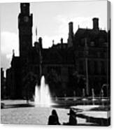 Comforted By The City Canvas Print