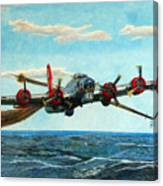Coming Home - Boeing B-17 Flying Fortress V2 Canvas Print
