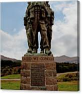 Commando Memorial 2 Canvas Print