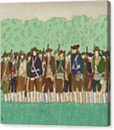 Committeemen On The Green Canvas Print