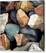 Common Stone Canvas Print
