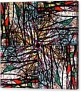 Communal Branches Canvas Print