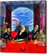 Communist Last Supper Canvas Print