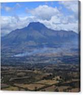 Communities Around Mount Imbabura Canvas Print