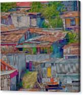 Community Of Tin Canvas Print