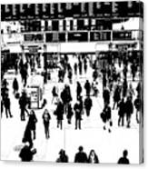 Commuter Art London Sketch Canvas Print