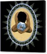 Compassion Mandala - Rlcmm Canvas Print