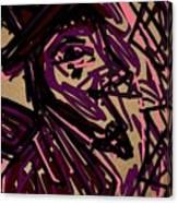 Complex Artist  Canvas Print