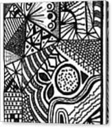 Complex Perception Canvas Print