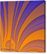 Complimentary Colors Canvas Print
