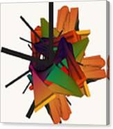 Composition 002 Canvas Print