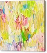 Composition Spring Canvas Print
