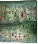 Composition In Green Canvas Print
