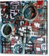 Composition No 9 Canvas Print