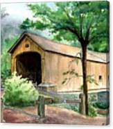 Comstock Bridge Canvas Print