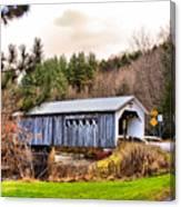 Comstock Bridge Montgomery Canvas Print