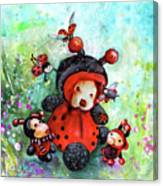 Comtessine Coccinella De Lafontaine Canvas Print