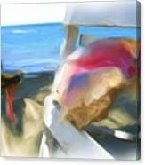 Conc At The Beach Canvas Print