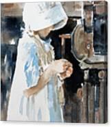 Concentration Canvas Print