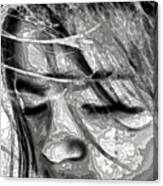 Conceptual Portrait Canvas Print