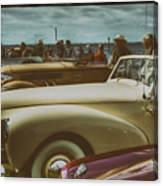 Concours Vintage Car Show Canvas Print