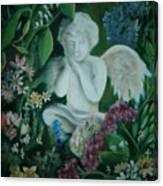 Concrete Angel Canvas Print