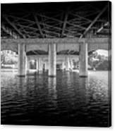 Concrete Bridge Canvas Print