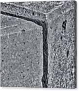 Concrete Corner 2787 Canvas Print